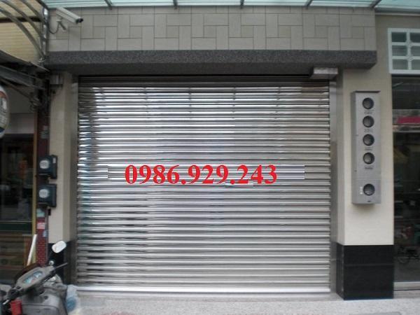 cửa cuốn inox 304 giá rẻ