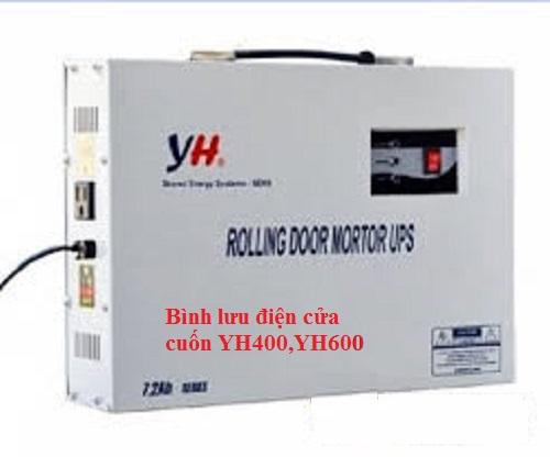 Bình lưu điện cửa cuốn YH400,YH600